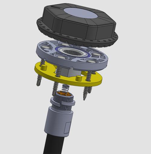 Беспроводной датчик уровня топлива КВ-Р01